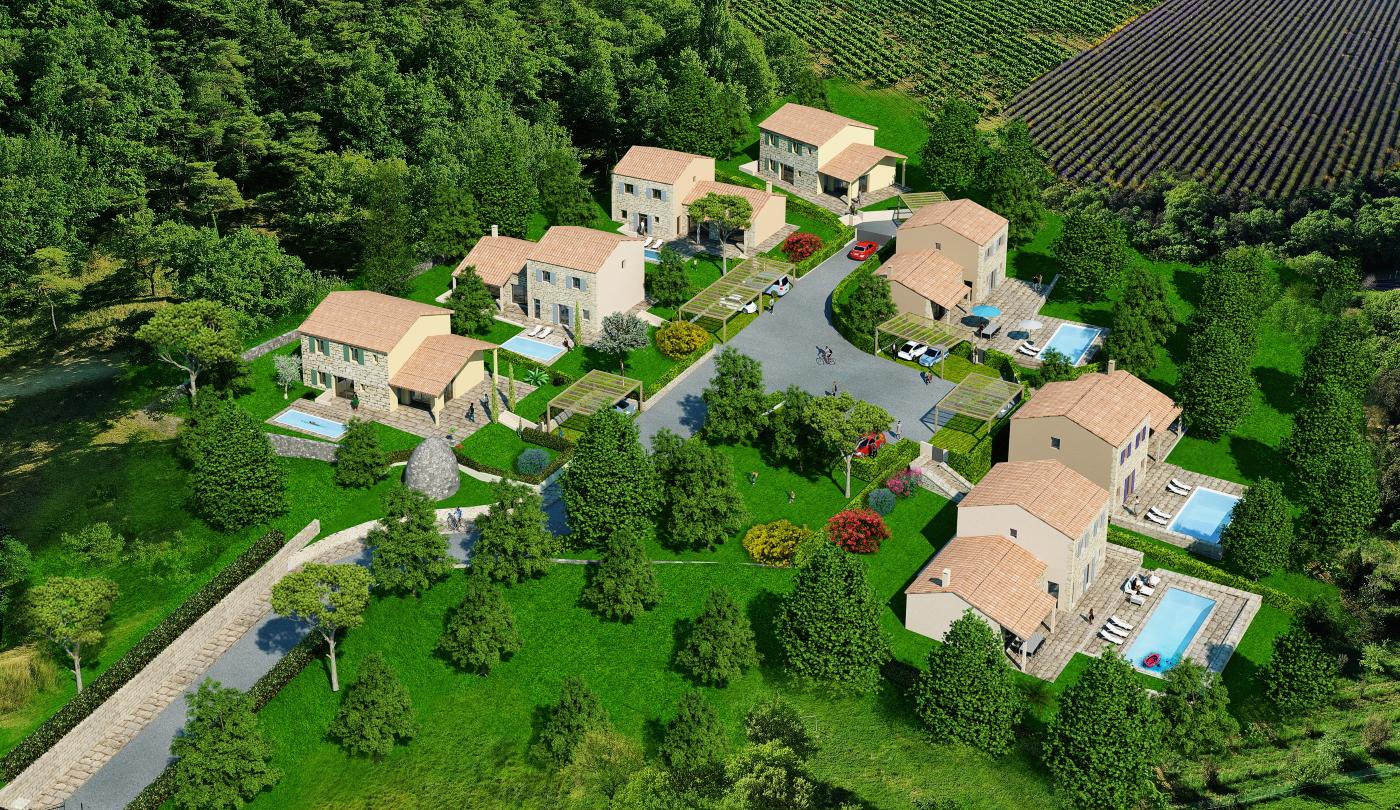 Programme Neuf - Le Domaine de la Borie - Goult - Vaucluse (84) 3