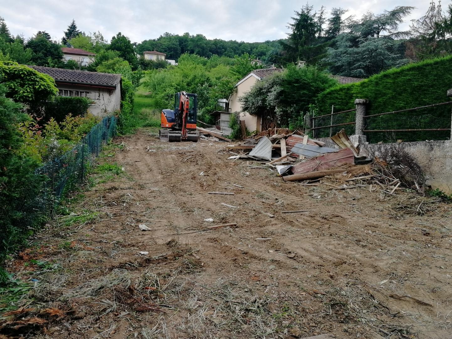 Lotissement Flora : Démarrage des Travaux
